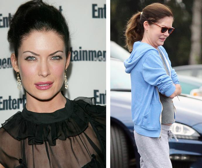 """On a vanity level, I am not looking forward to ageing at all,"" the *Twin Peaks* star, pictured in 2000 on the left and just last month on the left, has mused in the past. Lara hasn't confirmed nor denied going under the knife but experts speculate she may have had a nose job, Botox, fillers and a facelift."