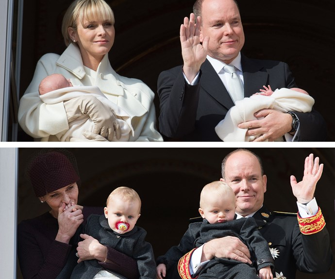 "Prince Jacques and Princess Gabriella, were born on 10 December of last year and have grown so much in the past year! ""They are beginning to take their first steps and trying to say little bits of words. They really want to express themselves and I speak to them in French. In everyday life, they are very playful and curious,"" Proud papa, Prince Albert told *Monaco Matin*."