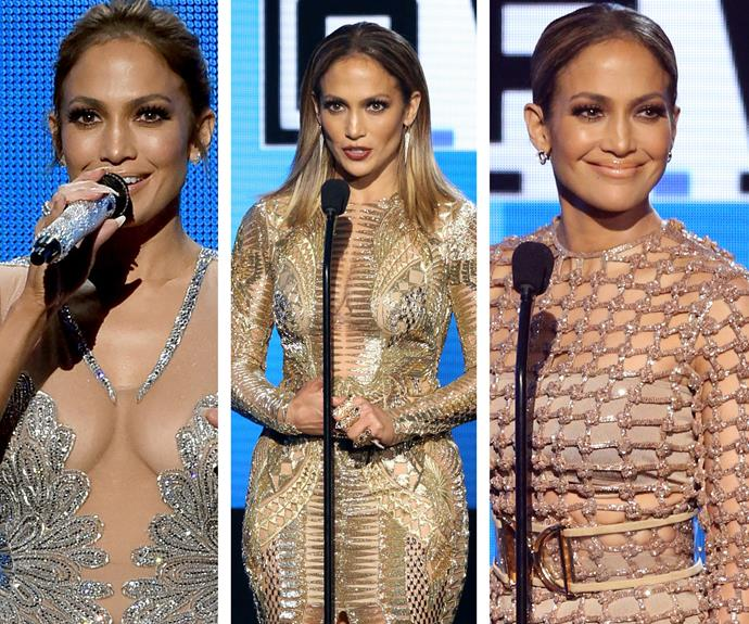 One thing was clear, Jennifer Lopez was the 2015 AMA's golden girl.