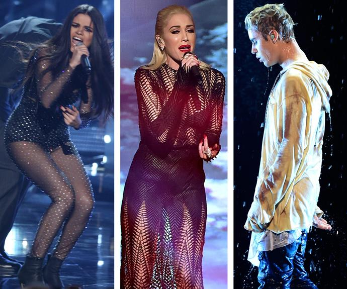 Biebs wasn't the only singer sharing their heartbreak through song. His ex, Selena Gomez had no time for old love and [Gwen Stefani was all kinds of emotional.](http://www.womansday.com.au/celebrity/hollywood-stars/gwen-stefani-gets-emotional-on-the-voice-14112)