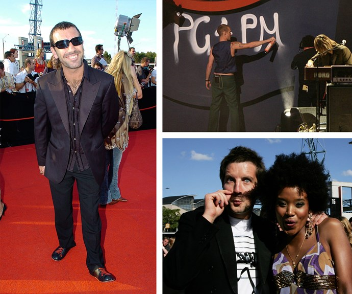 "[Talk about drama, drama, drama!](https://www.nowtolove.com.au/fashion/red-carpet/american-music-awards-2017-red-carpet-and-ceremony-photos-42876|target=""_blank"") Where do we begin? How about Paul Mac's unique acceptance speech for winning an ARIA for best dance release in 1995, where he thanked Sydney's ""ecstasy dealers, without whom this award would not be possible."" Then in 2006 Silverchair decided to not only promote their epic comeback but also focus on their bid for Peter Garrett to become Prime Minister... What could possibly top that? Some junk that needed to stay in Axle Whitehead's trunks! The former *Australian Idol* contestant decided to expose himself while he presented an award. Talk about yikes!"