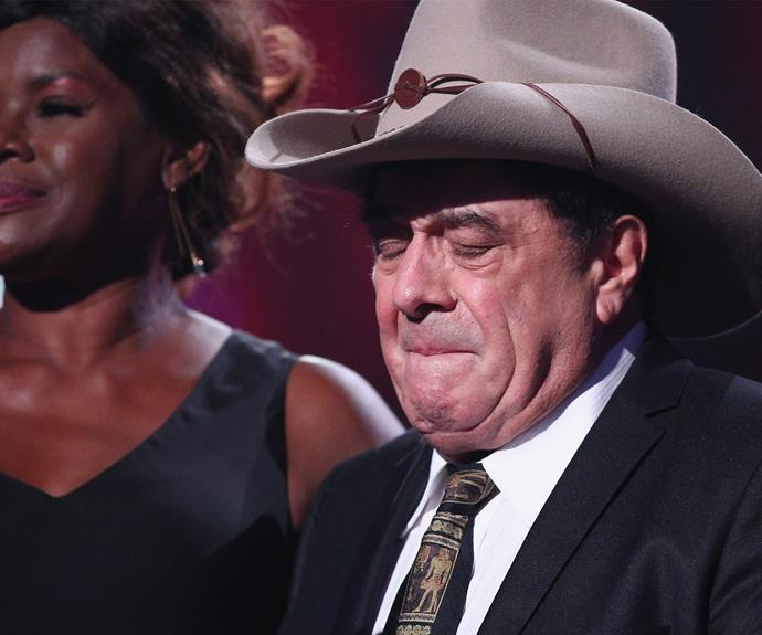 """In 2015, there wasn't a dry eye in the house when hosting legend Ian """"Molly"""" Meldrum, became the first non-musician to be inducted into the ARIA Hall of Fame. The 75-year-old, who spent eight weeks in a coma after a fall three years ago, spoke of his hopes for a speedy recovery for injured cricketer Phillip Hughes. Sadly, two days later, the cricketer passed away."""