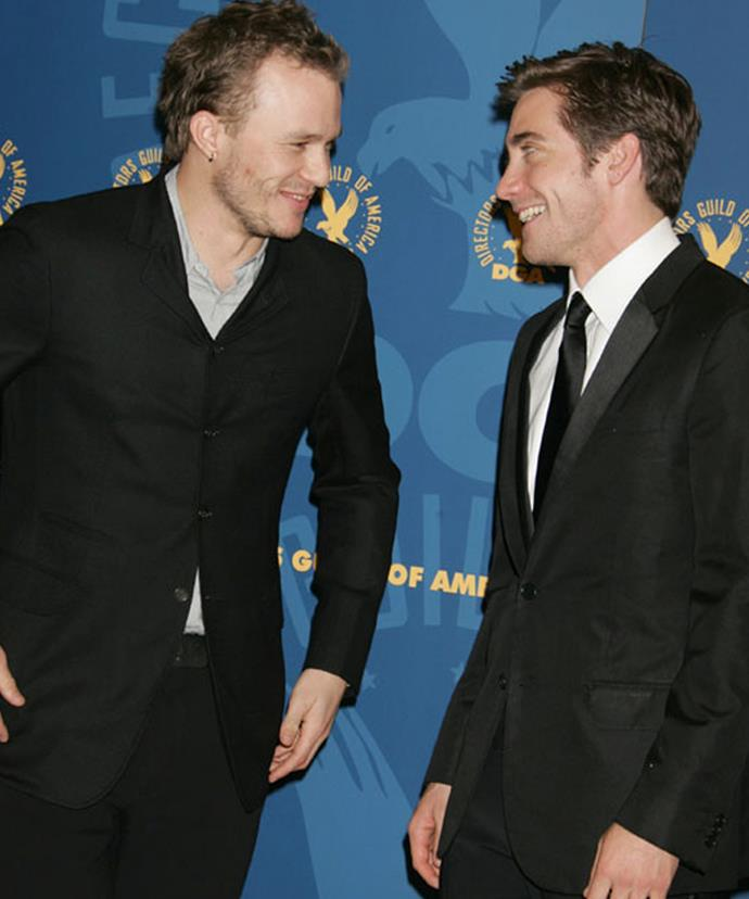 Jake shared that the pair were friends even before the filming of *Brokeback Mountain*, and that was one of the reasons he jumped at the opportunity to work with his friend.