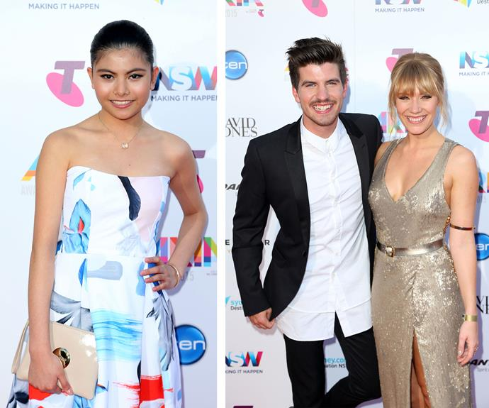 Former X Factors stars Marlisa, Matt and Jess were out in full force.
