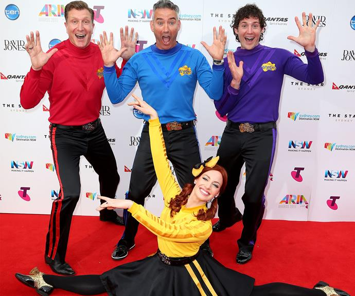 The Wiggles packed a colourful punch.