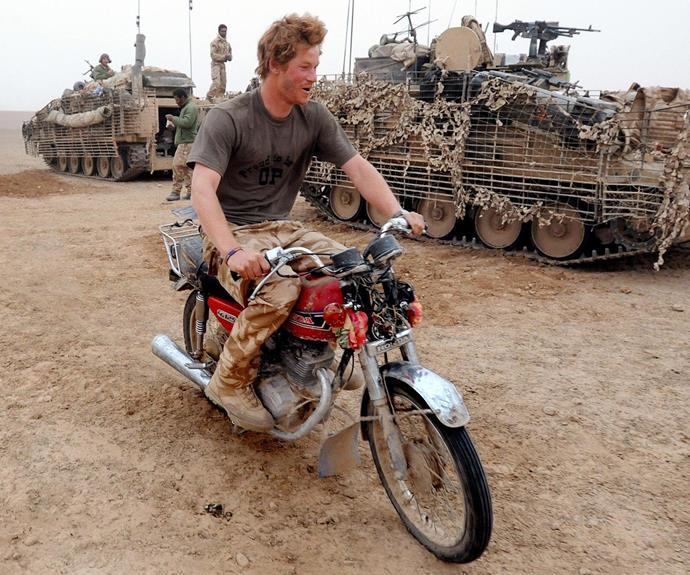 Prince Harry was once known for his wild ways.