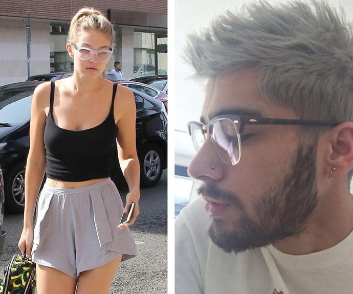 Zayn Malik has already started to share [Gigi Hadid's](http://www.womansday.com.au/style-beauty/fashion/the-2015-victorias-secret-fashion-show-14097) glasses. It must be love!