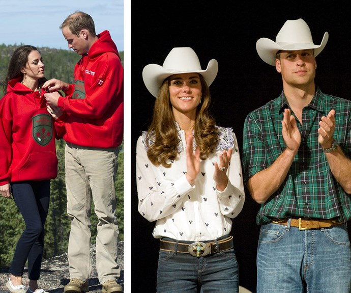 Being a royal means going on a lot of official tours and wearing a lot of local get-up. William and Catherine's trip to Canada in 2011 resulted in some fabulous fashion moments.