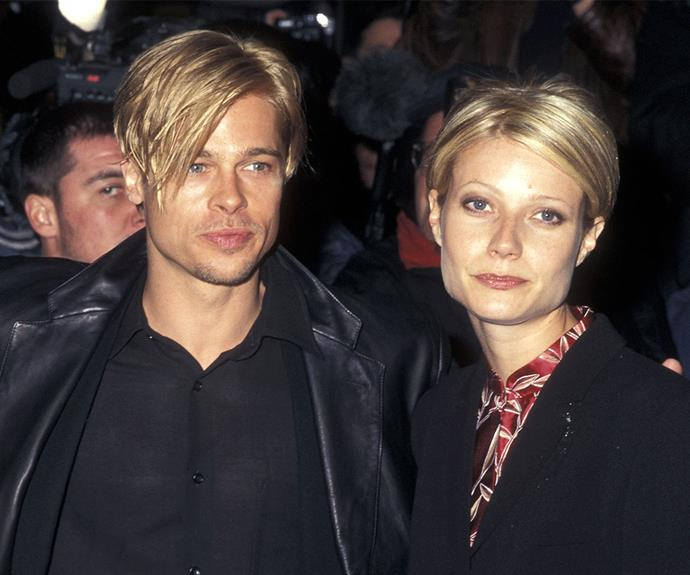 World renowned girlfriend style stalker Brad Pitt has matched his partners since the beginning of time! In 1997 he went one step further and got the exact same hair cut as Gwyneth Paltrow.