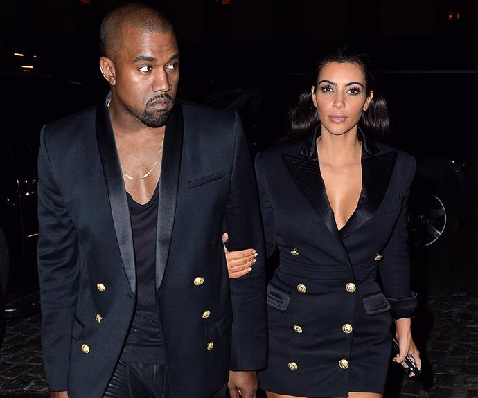 """""""Kanye sees what's out there on the streets and knows how to translate that into something that would look good on me, just helping me push my limits a little bit and try new things,"""" Kim explained to *CNN* of her evolving style."""