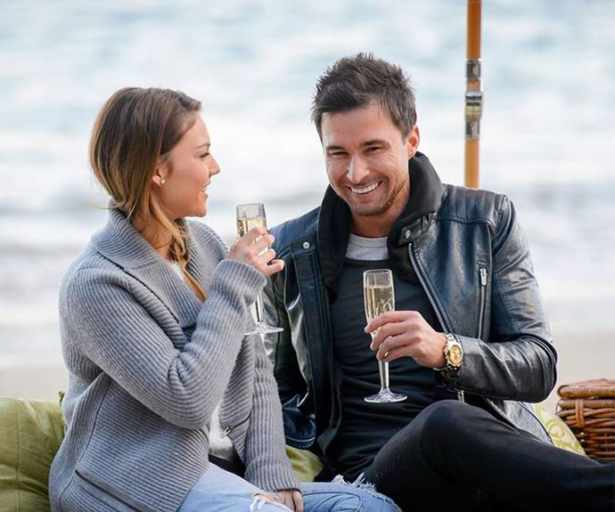 Michael was unable to win Sam Frost's heart on *The Bachelorette*.