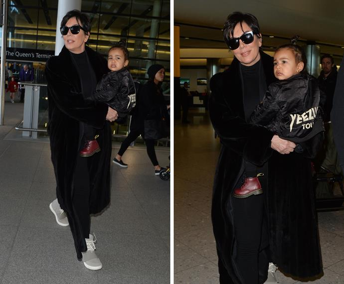 The toddler can show her baby brother how to cosy up to the most powerful grandmomager in Hollywood, Kris Jenner, so she'll only take 5% of your earnings, instead of her usual 10%.