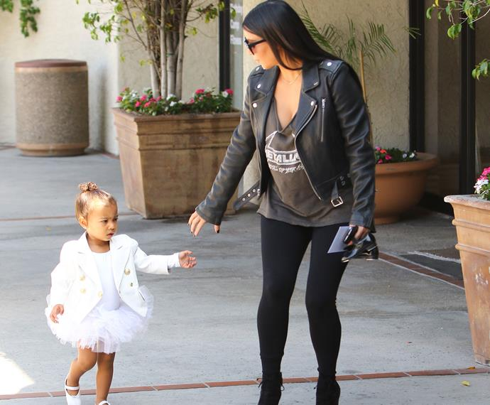 Nori is a dancing Queen and will be able to teach her sibling all the best moves from the arabesque to the perfect pointe – while rocking Balmain of course.