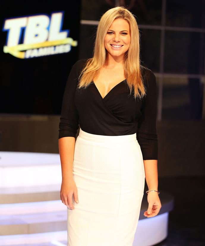 These days, Fiona is the stunning host of *The Biggest Loser: Families*.