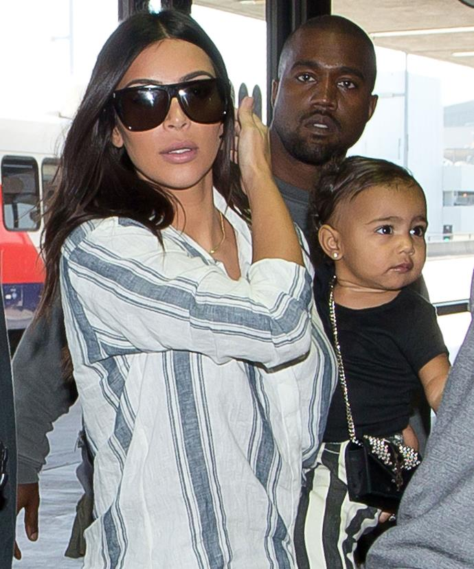 Kim and Kanye are already the proud parents to two-year-old North West.