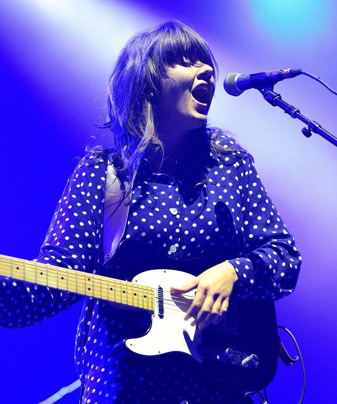 Aussie singer Courtney Barnett, 28, is up for Best New Artist.