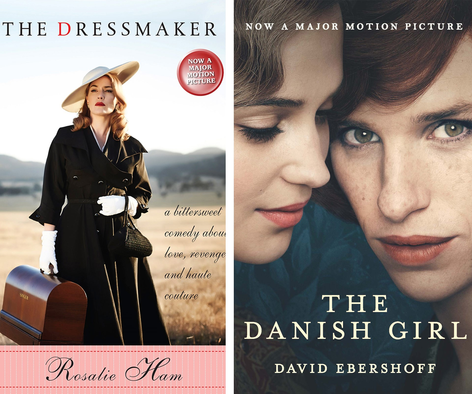 There has been some phenomenal movies out this year including, the new Australian classing, *The Dressmaker* and *The Danish Girl*. But did you know the films were based on bestselling novels? Both would be perfect for mum!