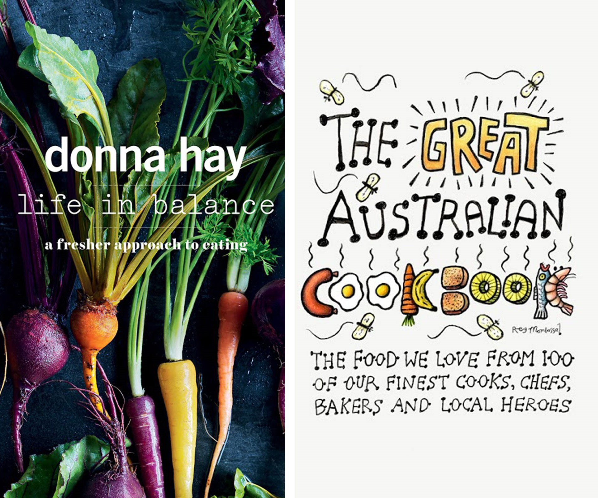 "For all the budding cooks out there, look no further than Donna Hay''s *Life in Balance*. The celebrated cook gives her take on ""realistic, sustainable and more balanced approach to fresher, healthier eating."" For your family's well-rounded chef, check out *The Great Australian Cookbook*. Featuring 165 recipes, it is the ultimate celebration of the food we love from 100 of Australia's finest cooks, chefs, bakers and local heroes."