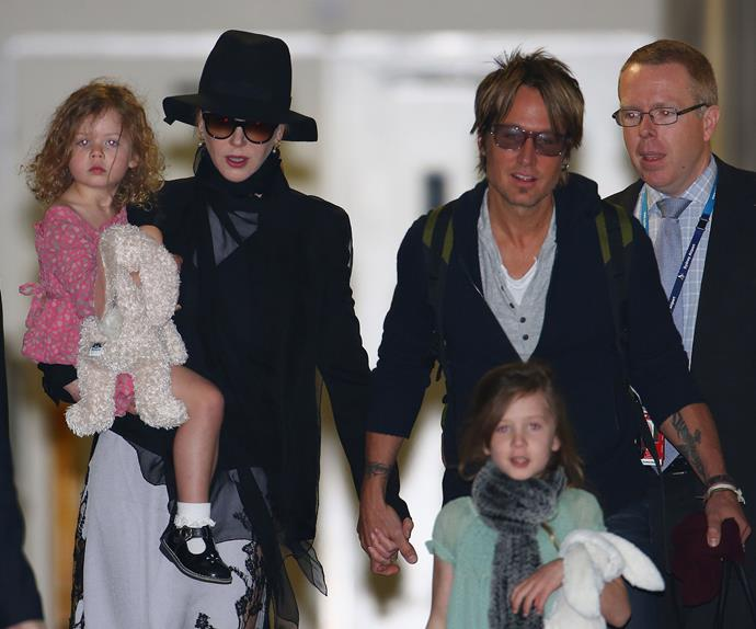 Nicole Kidman and Keith Urban named their little girls Faith Margaret and Sunday Rose and we're not sure we could ever forget the comparison everyone made with the eldest Urban girl's name sounding scarily similar to a delicious Sunday roast!