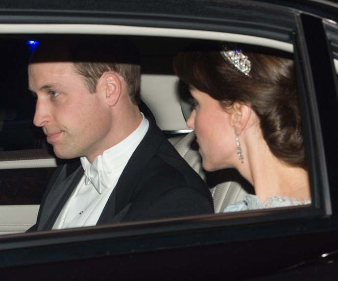 It's her Majesty's most glamorous event of the year, The Annual Diplomatic Reception At Buckingham Palace and the Duke and Duchess of Cambridge were out in royal force!