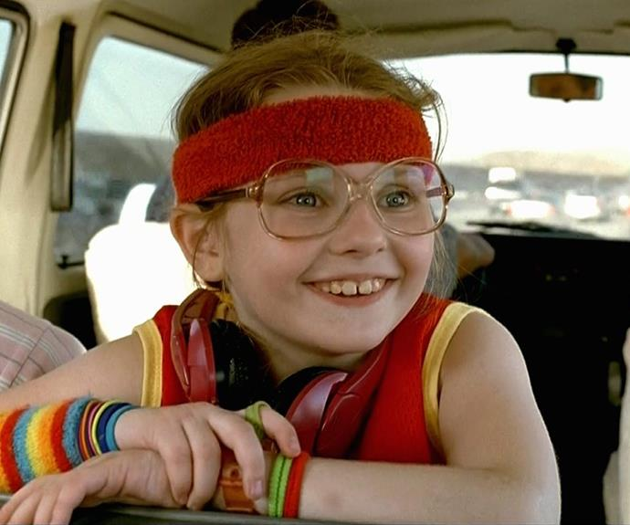 Many would recognise Abigail as the spectacled cutie from *Little Miss Sunshine*.