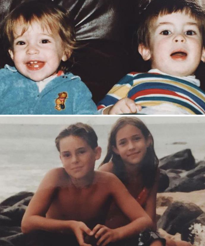 Kristin posted these sweet tributes to her beloved brother.
