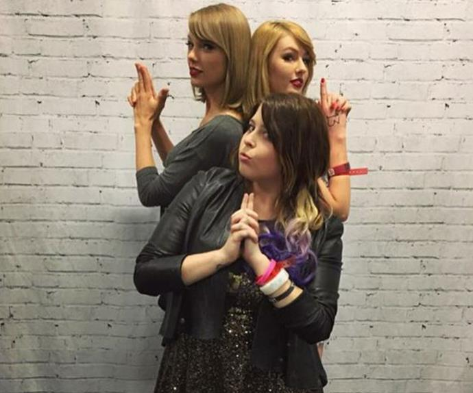"Olivia and her pal Kristy even got to meet the popstar at her Melbourne show over the weekend, which was a ""dream come true"" for the teenager."