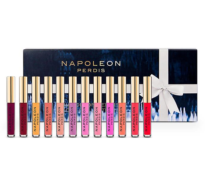And to compliment your radiant glow, you're going to want to have the glossy lips to boot! [Napoleon Perdis' love gloss](http://www.myer.com.au/shop/mystore/featured-brand-napoleon-perdis/napoleon-perdis-napoleon-perdis-love-gloss) collection comes in 12 summer-appropriate shades.