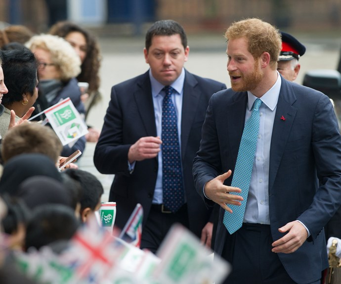Prince Harry made a touching visit to Mildmay Hospital in London's Shoreditch for it's 150th anniversary, the HIV centre that his late mother Princess Diana made famous after she was known to make private visits to the patients late at night without any cameras.