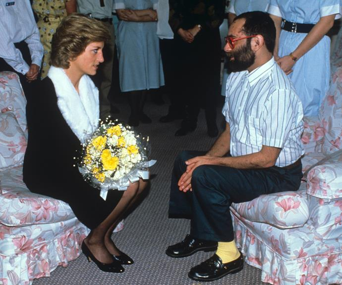 Although Princess Diana made many official visits to Mildmay hospital, she was best known for making private visits late at night and is considered to be responsible for helping break the taboo around HIV in the late eighties and early nighties.
