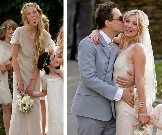 Back in 2011 Lottie was a cheeky flower girl at Kate's wedding. Although her marriage to [Jamie Hince has since gone bust,](http://www.womansday.com.au/celebrity/hollywood-stars/kate-moss-moves-in-with-boyfriend-nikolai-von-bismarck-13911) at the nuptials, Lottie met the [one and only Mario Testino](http://www.womansday.com.au/royals/british-royal-family/princess-charlottes-official-christening-portraits-13052) who is keen to work with her.