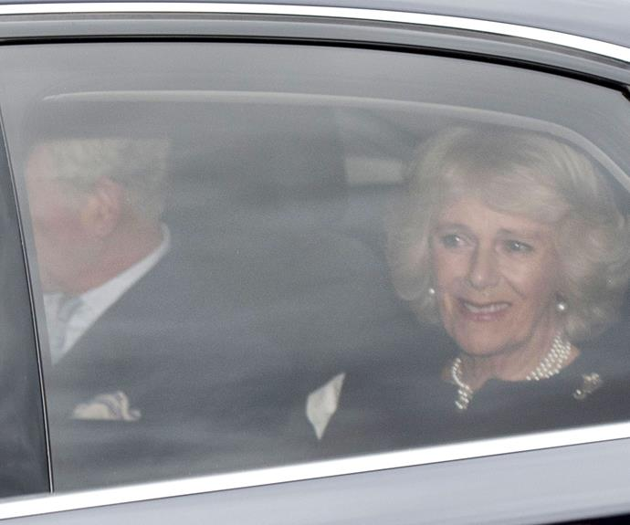 Also joining in on the Christmas fun was Prince Charles and Duchess Camilla, who recently toured Australia and New Zealand.