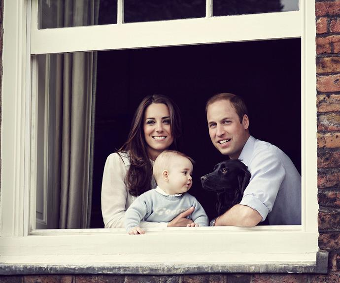 """One of the best royal festive shot, [apart from George and his amazing cheeks,](http://www.womansday.com.au/christmas/prince-georges-adorable-christmas-photos-7282