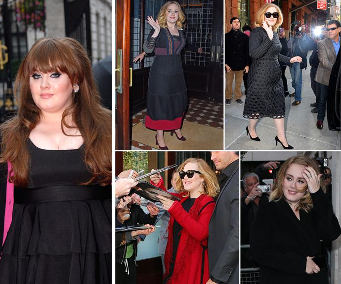 **Hello Adele, we missed you!** Her new album was released on November 25 and already 2015 was Adele's year. Not only has she never looked better but after four years away from the spotlight [the mum-of-one is at her best](http://www.womansday.com.au/celebrity/hollywood-stars/adele-makes-a-stunning-comeback-thanks-to-her-family-14168) – we can't wait to see what 2016 has in store for this unstoppable songstress.