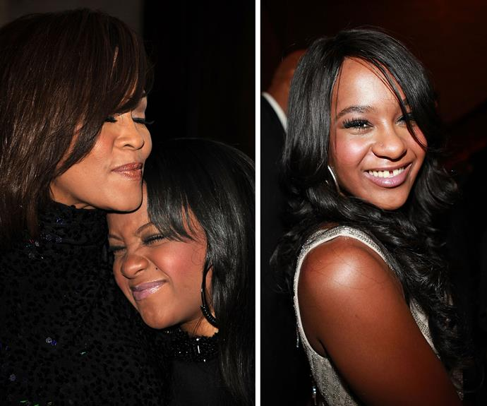 **Gone too soon** [When Bobbi Kristina Brown died in July](http://www.womansday.com.au/celebrity/hollywood-stars/bobbi-kristina-brown-has-died-12964) following a six month stint in hospital it quickly became one of the most tragic stories of year. Her death, at just 22, was eerily reminiscent of her mum, Whitney Houston's demise three years earlier.