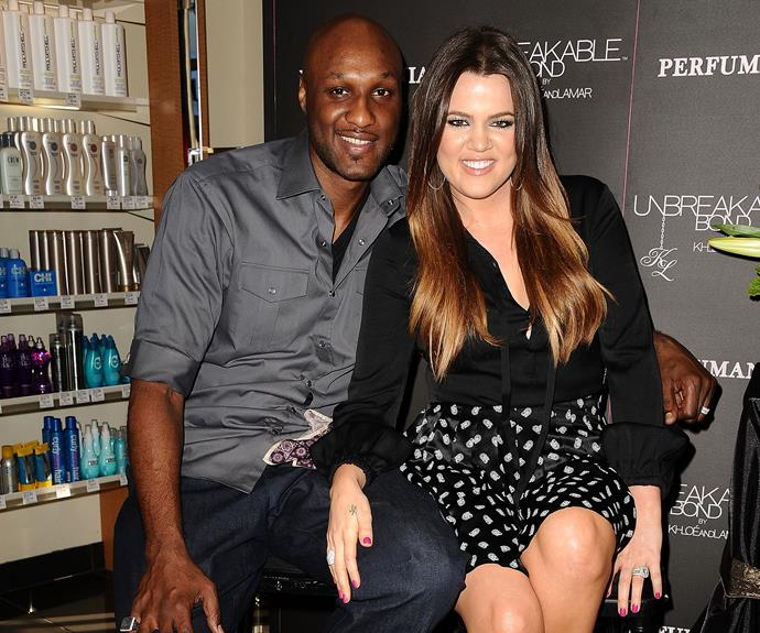 **Back from the brink** After [Lamar Odom was found unconscious](http://www.womansday.com.au/celebrity/hollywood-stars/khloe-kardashian-ex-lamar-odom-found-unconsciousness-13883 ) in a Nevada brothel back in October, his life hung in the balance. As he makes a [slow recovery](http://www.womansday.com.au/celebrity/hollywood-stars/lamar-odom-is-conscious-13908) Khloe Kardashian has stood by him the entire time.