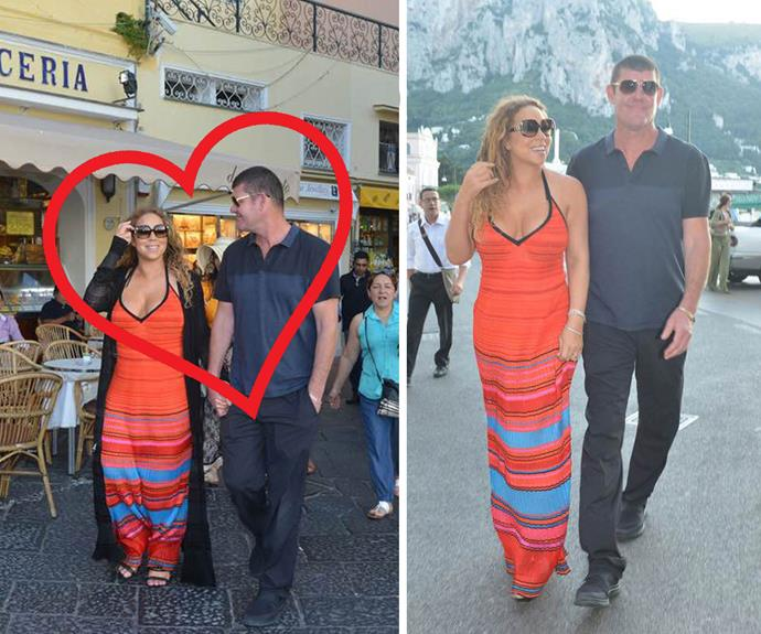 **The couple we still can't quite believe are dating** [Unlikely duo Mariah Carey and James Packer](http://www.womansday.com.au/celebrity/hollywood-stars/mariah-carey-and-james-packer-are-dating-12908) made their debut in June while on holiday in Capri and ever since they've been serving up all kinds of couple goals.