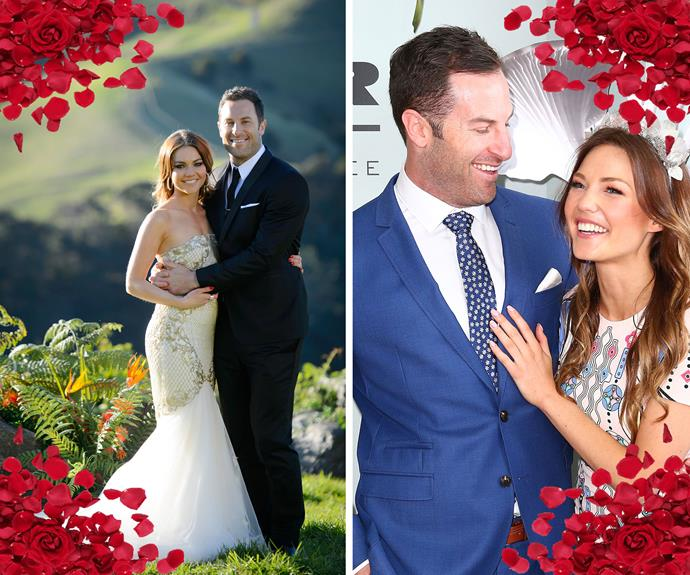 "**Happiness after heartbreak** After having her very public split with Blake Garvey last year on *The Bachelor*, [Sam Frost finally got her happily ever after with Sasha Mielczarek on *The Bachelorette*](http://www.womansday.com.au/entertainment/tv-soaps-books/the-winner-of-the-bachelorette-australia-2015-is-13955). ""I finally found the one I've been searching my whole life for.. Sasha Dean, I love you so much,"" the radio host said at the time."