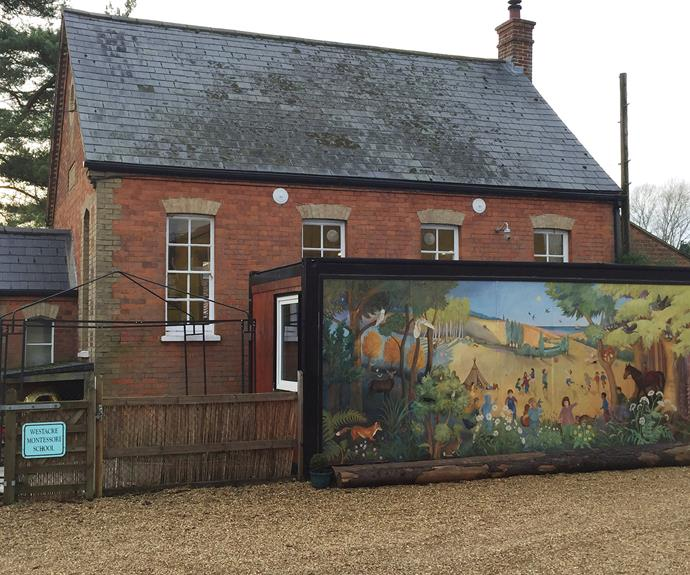Westacre Montessori School, where prince George will attend nursery next year.