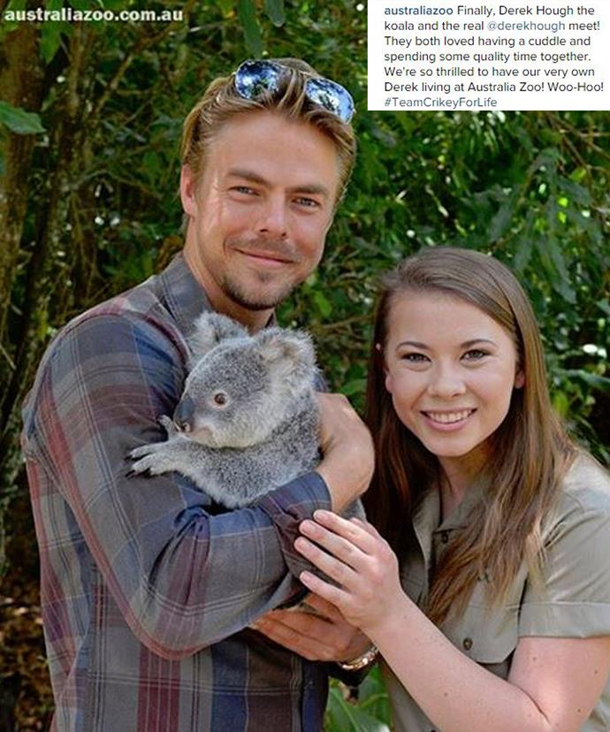 Bindi has been playing tour guide with her favourite American boys including *DWTS* partner, Derek Hough.