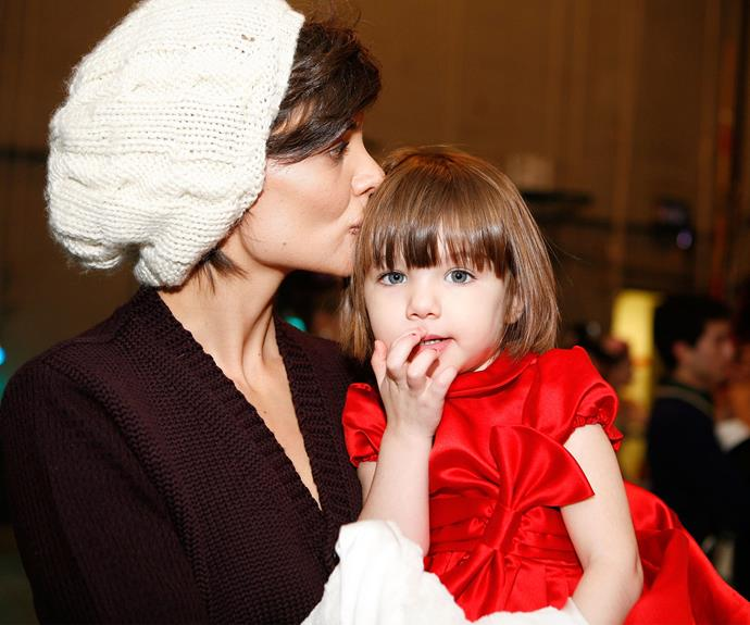The couple divorced in 2012, with Katie gaining full custody of Suri.