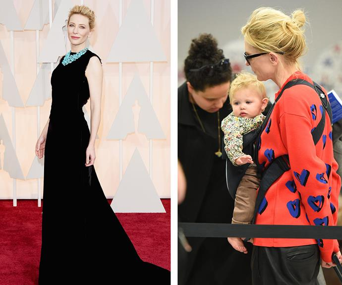 """Cate Blanchett surprised the world when [she adopted her fourth child, a daughter Edith Vivian Patricia Upton in March.](http://www.womansday.com.au/celebrity/australian-celebrities/cate-blanchett-adopts-baby-girl-with-husband-andrew-upton-11733) The actress and her hubby Andrew Upton are already the proud parents to sons Dashiell, 13, Roman, 10 and Ignatius, six. """"There's a lot of children out there who don't have the good fortune that our biological children do, so it's wonderful. It's wonderful to welcome a little girl into our fold. We're besotted,"""" the told *Sky News*."""
