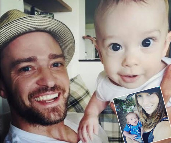 """**April babies** """"It is the most insanely amazing, wonderful, unbelievable thing to ever happen to you,"""" Justin Timberlake has said of becoming a dad to son [Silas with wife Jessica Biel.](http://www.womansday.com.au/celebrity/hollywood-stars/justin-timberlake-shares-new-photos-of-son-silas-13630) And it's fair to say, it really suits them!"""