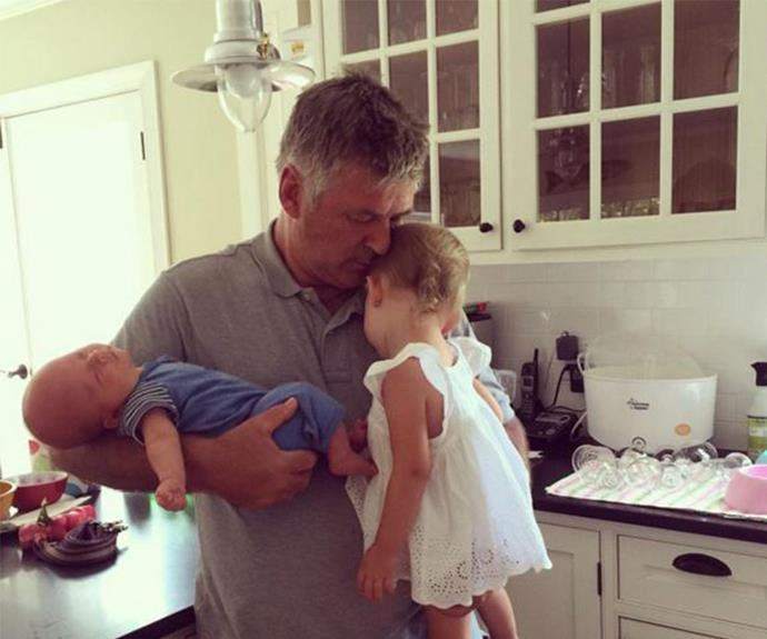 """**June babies** It was a healthy baby boy for *30 Rock* actor [Alec Baldwin and his yoga instructor wife Hilaria back in June.](http://www.womansday.com.au/celebrity/hollywood-stars/alec-and-hilaria-baldwin-welcome-a-baby-boy-12890) """"We are happy to announce the birth of Rafael Thomas Baldwin,"""" the couple, who also share daughter Carmen, tweeted at the time."""