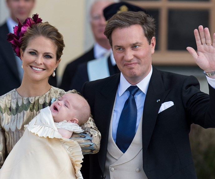 Just days after she attended her brother [Prince Carl's glamorous nuptials to Sofia Hellqvist](http://www.womansday.com.au/royals/international-royals/swedens-prince-carl-philip-marries-former-glamour-model-sofia-hellqvist-12859), Sweden's Princess Madeleine and her husband Christopher O'Neill [became parents to their second child, Prince Nicolas, Duke of Ångermanland.](http://www.womansday.com.au/royals/international-royals/princess-madeleine-of-sweden-welcomes-a-healthy-baby-boy-12871)