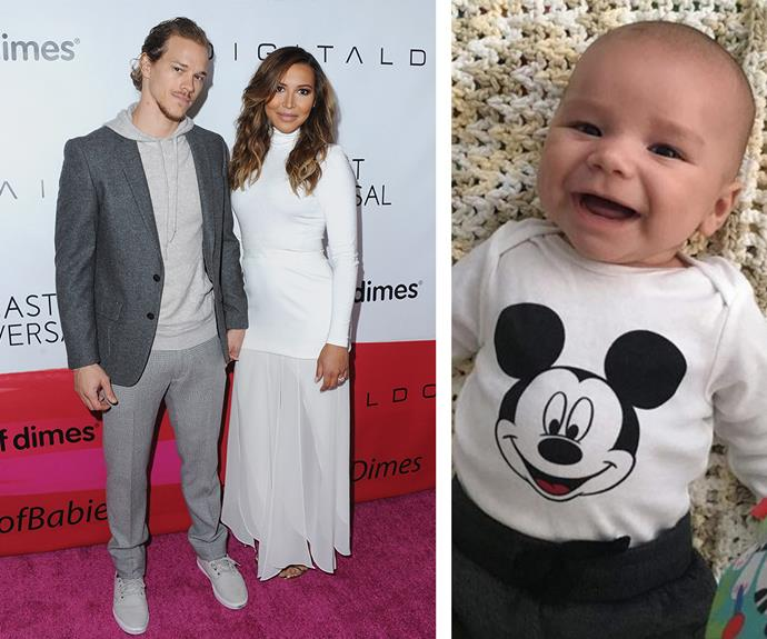 Former *Glee* star Naya Rivera and her husband Ryan Dorsey were overjoyed to show off [their seriously sweet son, Josey Hollis Dorsey.](http://www.womansday.com.au/celebrity/hollywood-stars/naya-rivera-and-ryan-dorsey-welcome-a-baby-boy-13771) Those cheeks!