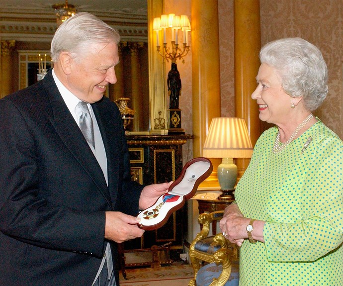 Did you know Sir David Attenborough directed five of The Queen's Christmas messages in the eighties when he was the head of the BBC.
