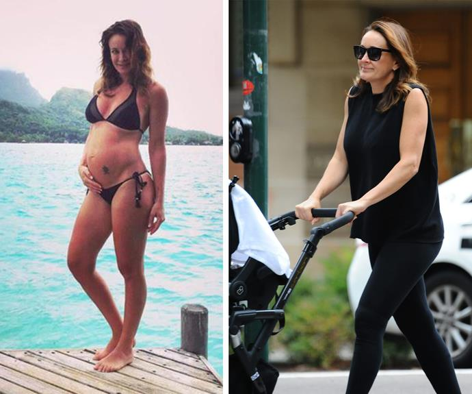 Less than a week since giving birth, it's clear to see the beloved TV personality has already bounced back into shape.