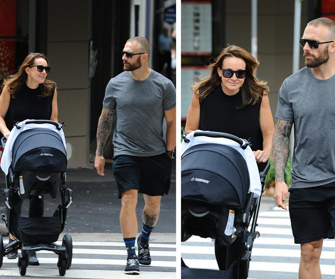"""""""I'm also just looking forward to spending time with my baby,"""" she explained to *The Project* ahead of Axel's arrival. **Pic credit: PMC Images**"""