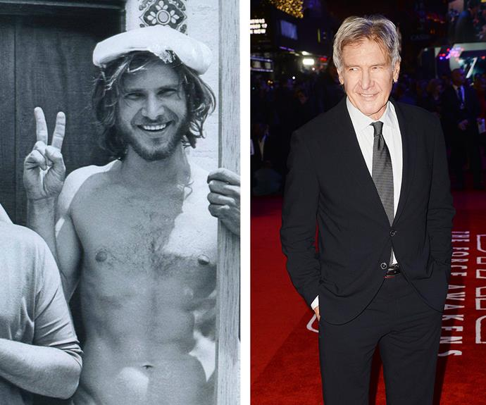 Long before he rose to fame, Harrison Ford, now 73, was just a handsome carpenter waiting for his big acting break. Brazilian musician Sérgio Mendes has blessed all of our eyes by sharing this spectacular throwback of the *Star Wars* actor in 1970 at just 28 years old and it's obvious he was always destined for amazing things!